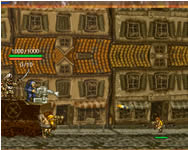 Metal slug crazy defense online játék
